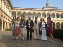 Part of the team at the CTS meeting in Milan